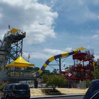 Photo taken at Jungle Rapids Family Fun Park by Christopher G. on 6/17/2016