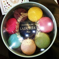 Photo taken at Ladurée by Dom on 7/27/2013