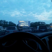 Photo taken at Wellfleet Drive-in and Cinemas by Thao N. on 6/25/2013