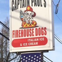 Photo taken at Captain Paul's Firehouse Dogs by Michael N. on 4/19/2014