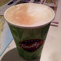 Photo taken at Timothy's World Coffee by Sreevatsan A. on 11/6/2013