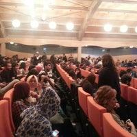 Photo taken at Üsküdar Üniversitesi Nermin Tarhan Konferans Salonu by Eda A. on 10/25/2013