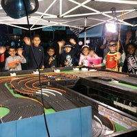 Photo taken at Cerritos Elementary by Racing Party Events on 10/30/2013