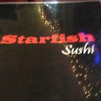 Photo taken at Starfish Sushi by Aqua L. on 10/18/2012