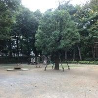Photo taken at 塚山公園 by Junya Y. on 10/23/2016