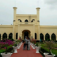Photo taken at Istana Sultan Siak by 73R1 on 9/14/2016