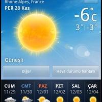 Photo taken at Université Lumière Lyon 2 - Campus Porte des Alpes by Selen Su D. on 11/28/2013