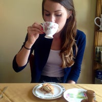 Photo taken at Teaberry's Tea Room by Katelyn G. on 8/16/2015