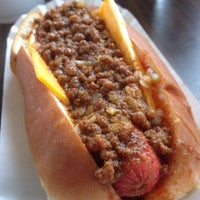 Photo taken at Brandi's World Famous Hot Dogs by Burger B. on 3/3/2014