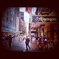 Photo taken at Algonquin Hotel, Autograph Collection by Anthony L. on 5/23/2013