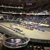 Photo taken at Richmond Coliseum by Justin S. on 4/20/2013