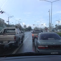 Photo taken at Khao Chaison Intersection by 🐾_MOM_😍😘😘 on 11/9/2012