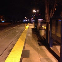 Photo taken at VTA Lightrail Tasman Station by Simon K. on 11/1/2013