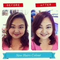 Photo taken at Hair Heart by Thanjira A. on 9/13/2013