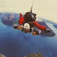 Photo taken at NZONE Skydive Queenstown by Pete R. on 11/17/2014