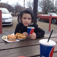 Photo taken at Connors Hot Dog Stand by Sherry L. on 4/12/2014