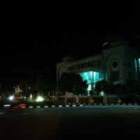 Photo taken at Masjid Agung Al-Hijrah by Fajrin A. on 6/16/2014
