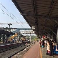 Photo taken at Thrissur Railway Station by Sooraj W. on 10/15/2016