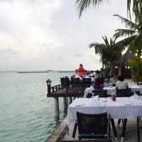 Photo taken at Sheraton Maldives Full Moon Resort & Spa by Ibrahim M. on 7/20/2013