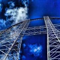 Photo taken at Millennium Force by J.R. A. on 2/21/2014