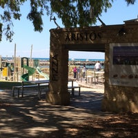 Photo taken at Aristos Waterfront Rottnest Fish Cafe by Paperchaser on 11/15/2015