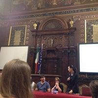 Photo taken at Università degli Studi di Macerata by Cristina R. on 10/20/2014