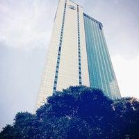 Photo taken at KASIKORNBANK Head Office by Sarayut W. on 11/14/2012