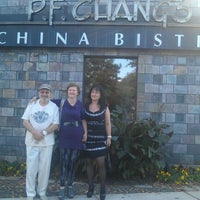 Photo taken at P.F. Chang's by Riva M. on 12/2/2012