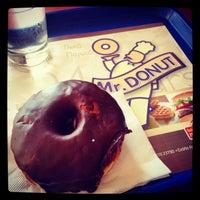 Photo taken at Mr. Donut by Zeta P. on 7/26/2014
