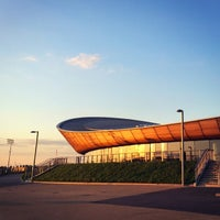 Photo taken at London 2012 Velodrome by Rory C. on 5/26/2015