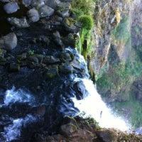 Photo taken at Multnomah Falls by Becka B. on 9/18/2012