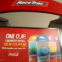 Photo taken at RaceTrac by Bradford S. on 5/16/2016