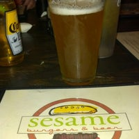 Photo taken at Sesame Burgers & Beer by Rick V. on 2/8/2013