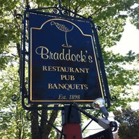 Photo taken at Braddock's Tavern by Tracey F. on 4/30/2013