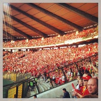 Photo taken at King Baudouin Stadium by Francois B. on 6/7/2013