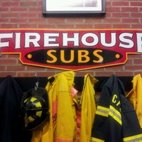 Photo taken at Firehouse Subs by Ariel Akiva on 10/23/2012