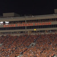 Photo taken at Boone Pickens Stadium by HiL S. on 9/30/2012