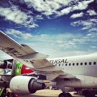 Photo taken at Lisbon Humberto Delgado Airport (LIS) by Kaysha on 4/7/2013