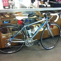 Photo taken at Harris Cyclery by Mariana R. on 2/20/2013