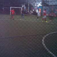 Photo taken at Galaxy Futsal Center by Masy'al M. on 11/24/2013