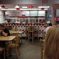 Photo taken at Five Guys by linley a. on 9/20/2013