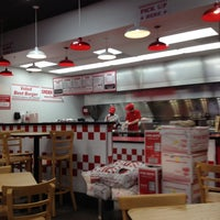 Photo taken at Five Guys by linley a. on 5/10/2013