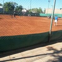 Photo taken at Tennis Club Neuquen by Ali V. on 11/2/2013
