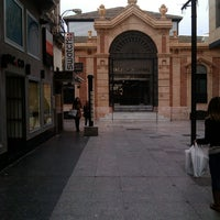 Photo taken at Mercado Central de Almería by Joseanmt on 3/25/2013