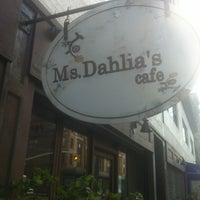 Photo taken at Ms. Dahlia's Cafe by Enric A. on 4/14/2013