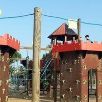 Photo taken at Parque La Paz by Eu P. on 3/20/2014