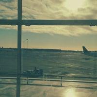 Photo taken at Gate E70 - Aeroport T1 by Cristina R. on 2/4/2014