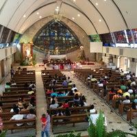 Photo taken at San Ildefonso Parish by Robert R. on 3/31/2013