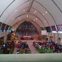 Photo taken at San Ildefonso Parish by Robert R. on 12/25/2012