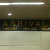 Photo taken at Arrivals by Jan D. on 4/27/2012
